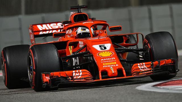 Vettel fastest on day one of Abu Dhabi test