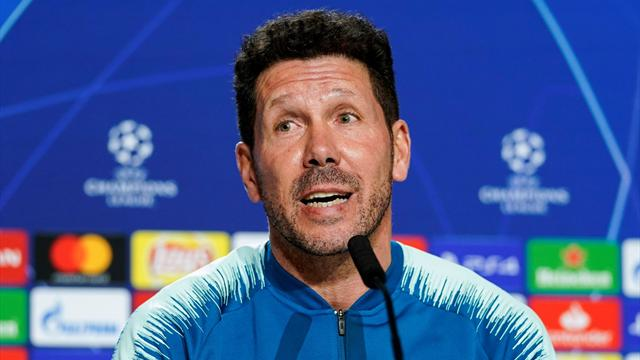 """Simeone: """"Godin domani gioca. Quello di Madrid è stato solo il primo tempo..."""""""