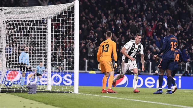 Le pagelle di Juventus-Valencia 1-0: intesa Ronaldo-Mandzukic, domina Chiellini, bene Cancelo