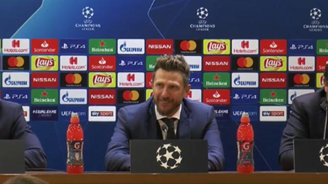 """Di Francesco: """"Sono arrabbiato per la partita: non si può regalare così tanto"""""""