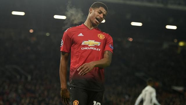 Rashford returns to United after withdrawing from England squad due to ankle injury