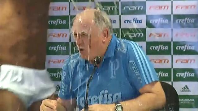 Palmeiras kampioen | En toch blijft Luiz Felipe Scolari een bromsnor