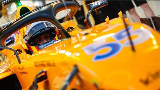 McLaren's pace best outside top three - Norris