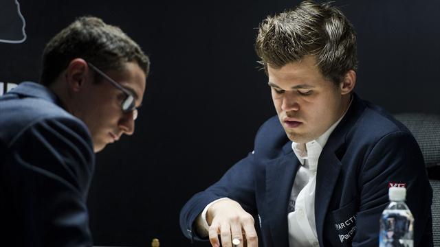 Карлсен обыграл Каруану вматче зазвание чемпиона мира пошахматам