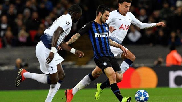 Tottenham vs Inter por la Champions League — En VIVO