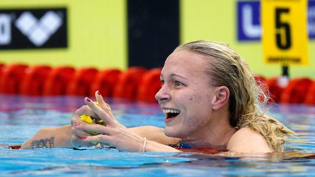 """Saranno famosi, Sarah Sjöström a 17 anni: """"All'inizio odiavo nuotare, ora sono in stato di grazia"""""""