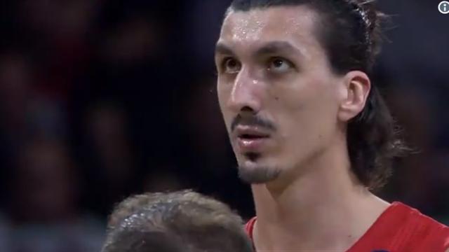 «Каждый второй в Париже принимал меня за Златана». Баскетболист «Баварии» – копия Ибры
