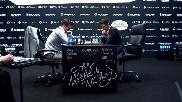 Mundial de Ajedrez 2018: Carlsen tumba a Caruana y retiene la corona