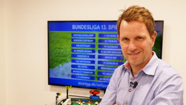 """#SotipptderBoss den 13. Bundesliga-Spieltag: Eintracht """"rasiert"""" Wölfe"""