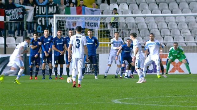 Höjdpunkter: Apollon nollade Lazio