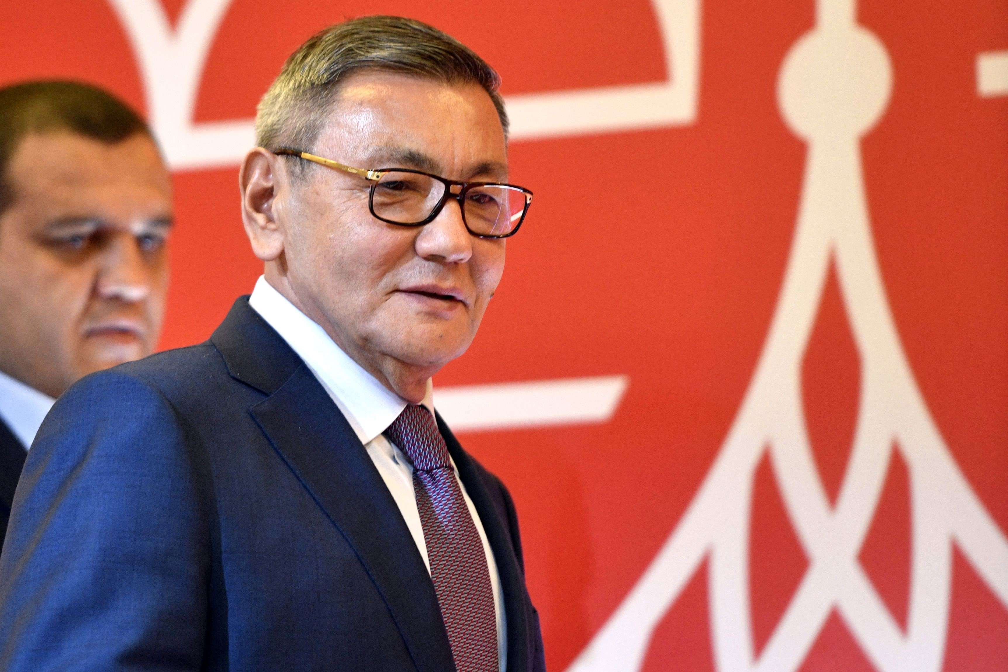 Gafur Rakhimov à Moscou, le 3 novembre 2018