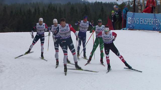 Federico Pellegrino in Lillehammer snelste op sprint