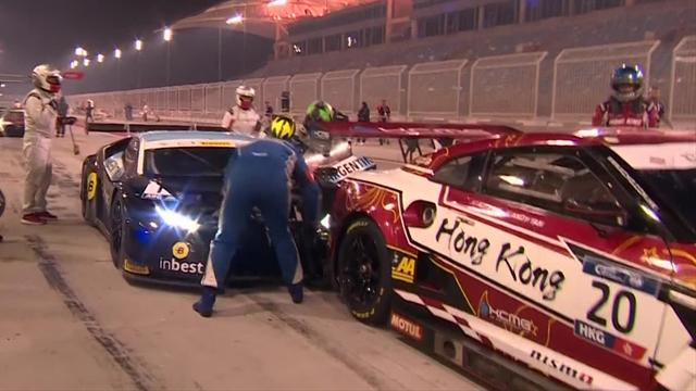 Argentina bumps Hong-Kong...in the pit-lane!