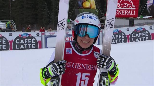 Une course parfaite pour un premier succès : Schmidhofer a créé la surprise à Lake Louise