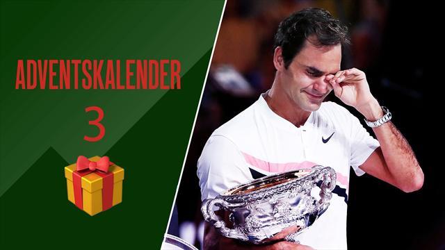 Adventskalender | Große Emotionen bei Federers 20. Grand-Slam-Sieg