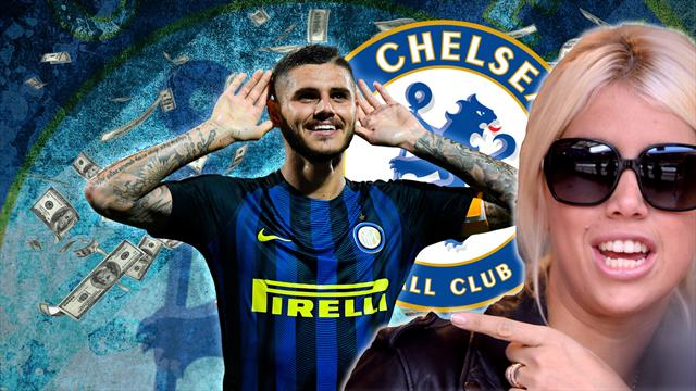 Euro Papers: Chelsea target Icardi says agent Wanda 'knows what to do'