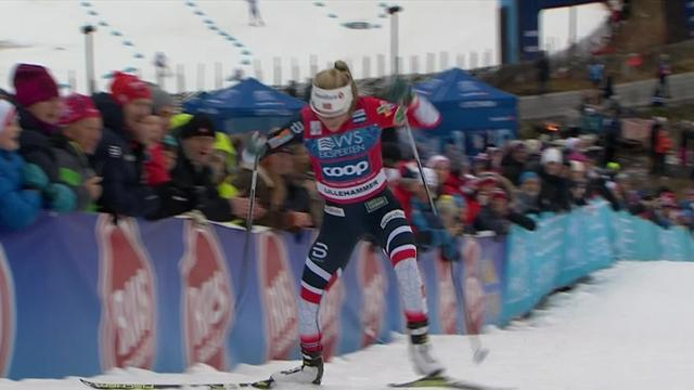 Therese Johaug storms to 10km freestyle victory