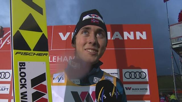 Riiber completes Lillehammer World Cup cleansweep