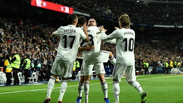 ⚽ El Real Madrid derrota al Valencia y aprieta a Sevilla, Barça y Atlético (2-0)