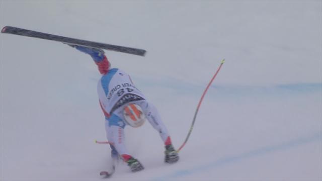 Victime d'une horrible chute, Kryenbühl est un miraculé