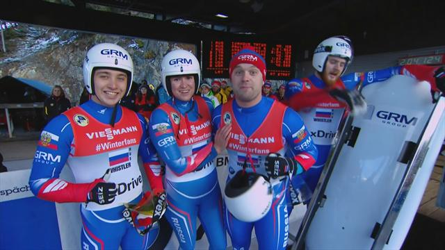 Russia claim victory at Viessmann Team Relay World Cup