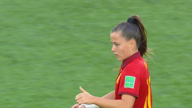 Mundial sub-17, España-México: El golazo de fantasía de Claudia Pina para marcar el camino (1-0)
