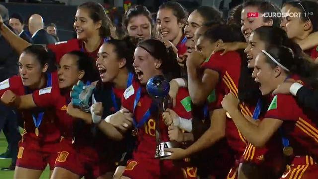 Mundial sub-17 femenino: Asi levantó España un trofeo histórico