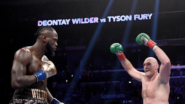 """Wilder : """"Je m'occupe d'abord d'Ortiz puis ce sera au tour de Fury"""""""