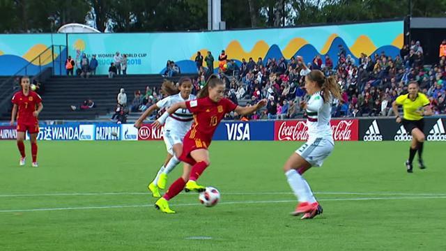 Mundial Sub-17 Femenino: Resumen y goles del España-México
