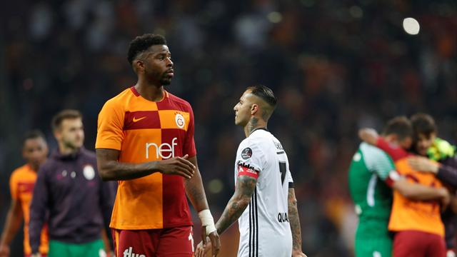 Besiktas beat Galatasaray in pulsating derby