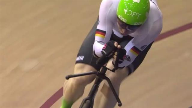 Eilers holt Weltcup-Gold im 1000-Meter-Zeitfahren