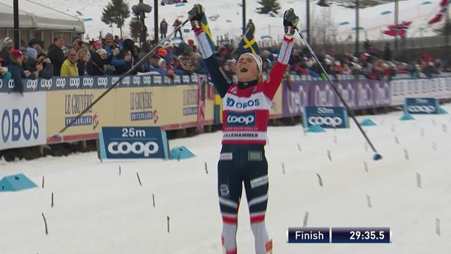 Cross-Country highlights as Johaug takes victory