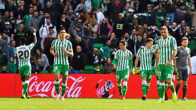 ⚽ 🌟 Un solitario gol de Junior acerca al Betis a Europa (1-0)