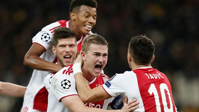Ajax sitting on fortune with another golden generation