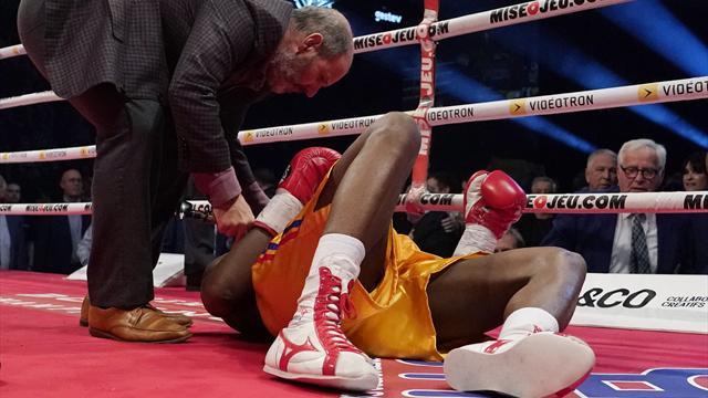 Stevenson en soins intensifs après sa défaite contre Gvozdyk