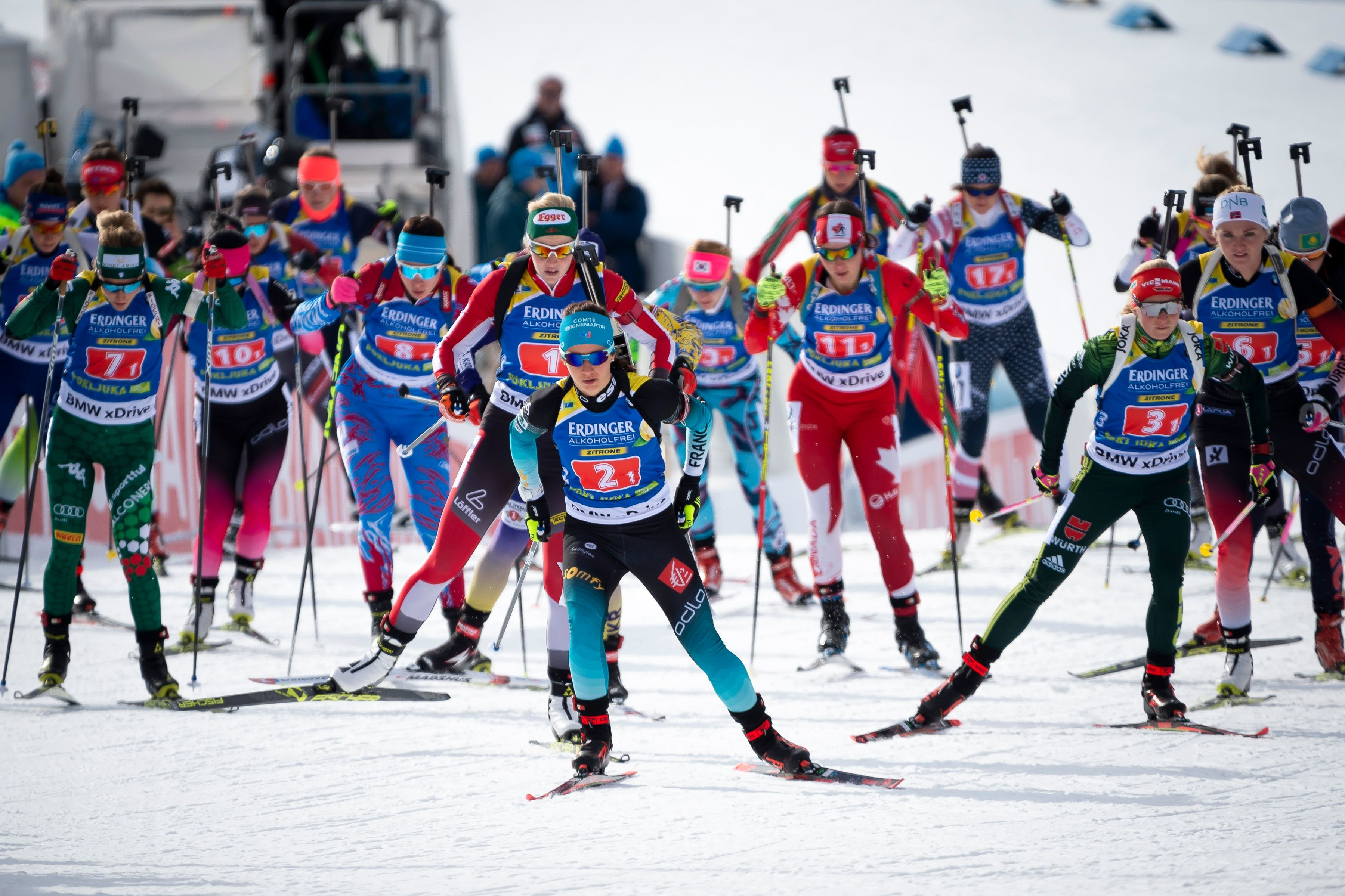 Biathlon, Staffel