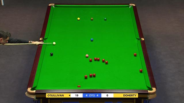 Ronnie O'Sullivan is a cue-ball wizard... how did he do that!?