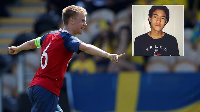 Norske U-landslagsspillere på prøvespill hos Liverpool: – Alt går mye fortere