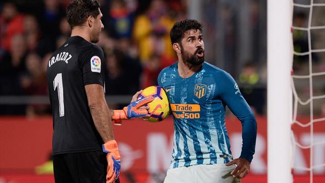⚽ Un gol en propia de Ramalho evita la derrota del Atlético en GIrona (1-1)