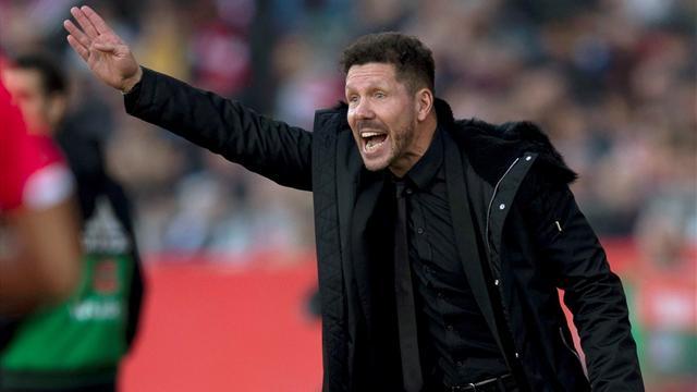 """Simeone reconoce una Liga más abierta que nunca: """"Está bárbara"""""""