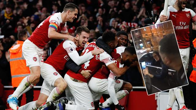 Guendouzi hangs out of car, Holding trolls Spurs - Arsenal stars react to derby win
