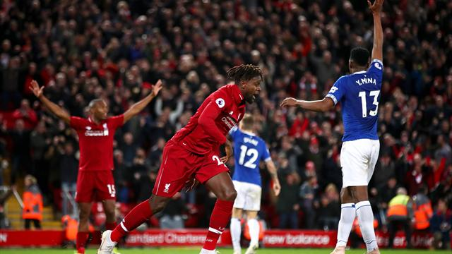'Give him the keys to Liverpool': Fans react to Origi's derby winner