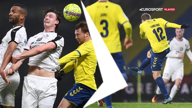 Highlights: Brøndby vandt sikkert over Hobro hjemme