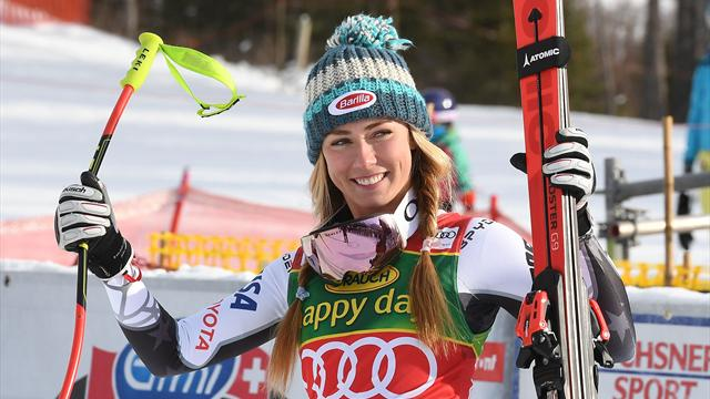 Shriffin scoops first Super G World Cup gold