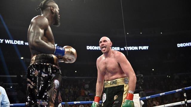 Fury v Wilder ends in controversial draw