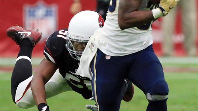 Rams aseguran título divisional