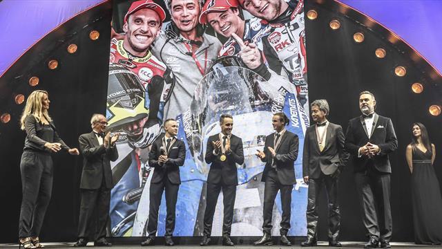 F.C.C. TSR Honda France crowned at FIM Awards ceremony
