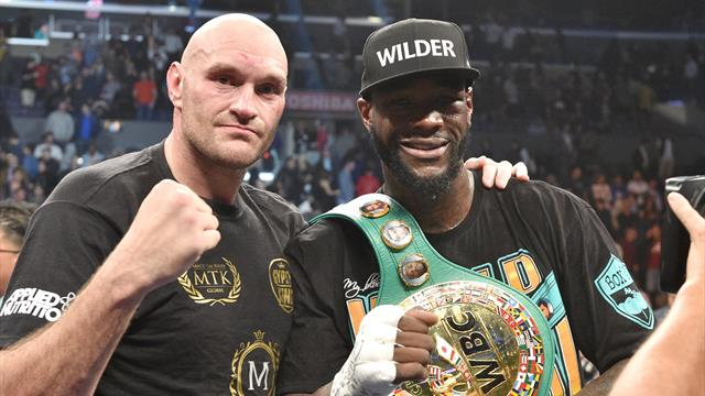Wilder wants Fury rematch'ASAP