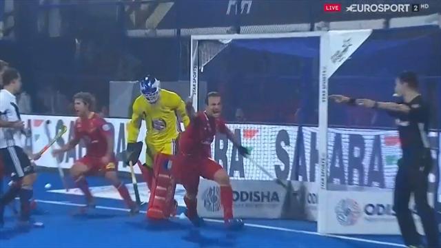 Mundial Hockey Hierba, España-Francia: El jugadón de los RedSticks y gol de Álvaro Iglesias (1-1)
