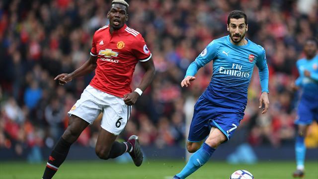 Premier League: Etapa intermediară le pune față în față pe United și Arsenal